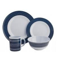 CHD 6016 Navy Pin Stripe Dining Set