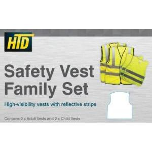 CRS 6014 Safety Vest Family Pack