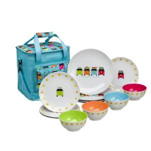 CHD 6020 Camper Smiles 12 Piece Picnic Set