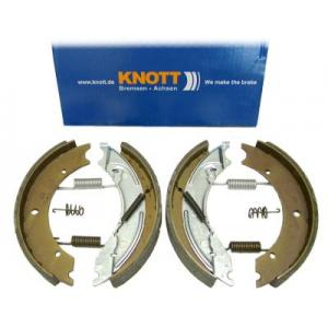 CBP 2010AX  Knott Brake Shoe 250x40 Axle Set