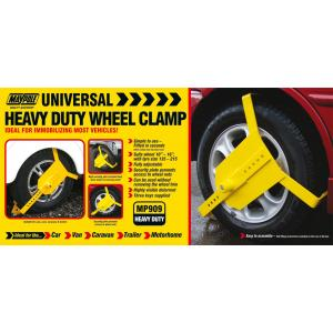 CSD 3811 Maypole Heavy Duty Wheel Clamp