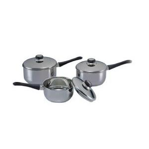 CKW 1070  Stainless Steel Saucepan Set