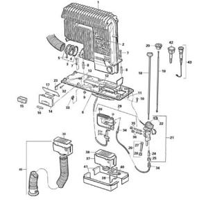 CCG 89250 Truma S 3002 Heater Parts List