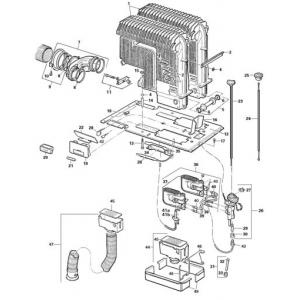 CCG 89200 Truma S 5002 Heater Parts List