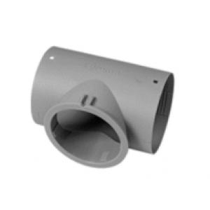 CAS 9910 Air Ducting Tee 65mm & 72mm LT